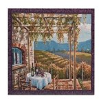 Tuscan Vineyard Tile Coaster