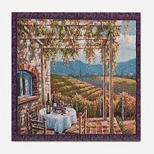 Tuscan Vineyard Tile Coaster