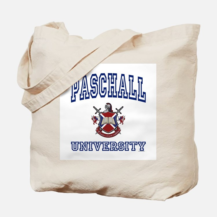 PASCHALL University Tote Bag