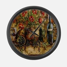 Vino di Italia Large Wall Clock