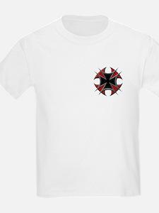 Double Maltese Biker Cross T-Shirt