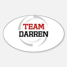 Darren Oval Decal