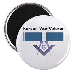 Masonic Korean War Vet Magnet