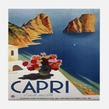 Vintage Capri Tile Coaster