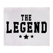 The Legend Throw Blanket
