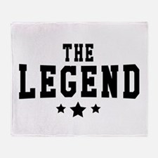 The Legend Throw Blanket