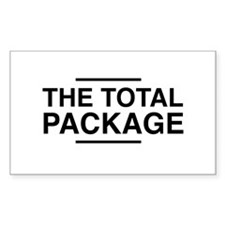 The Total Package Decal
