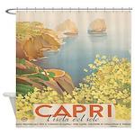 Isola Capri Shower Curtain