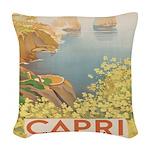 Isola Capri Woven Throw Pillow