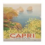 Isola Capri Tile Coaster