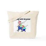Fishing w/Grandad 2 Tote Bag