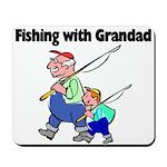 Fishing w/Grandad 2 Mousepad
