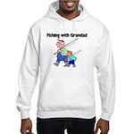 Fishing w/Grandad 2 Hooded Sweatshirt