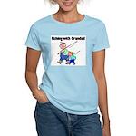 Fishing w/Grandad 2 Women's Light T-Shirt