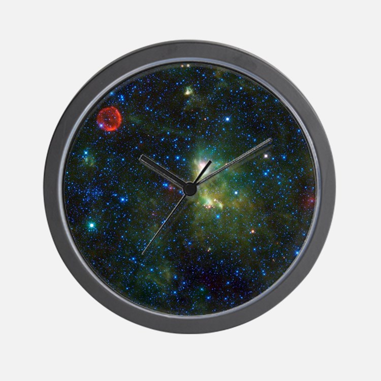 Cute Cosmologists Wall Clock