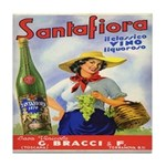 Santafiora Tile Coaster