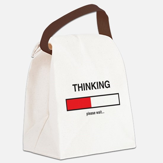 Thinking please wait... Canvas Lunch Bag