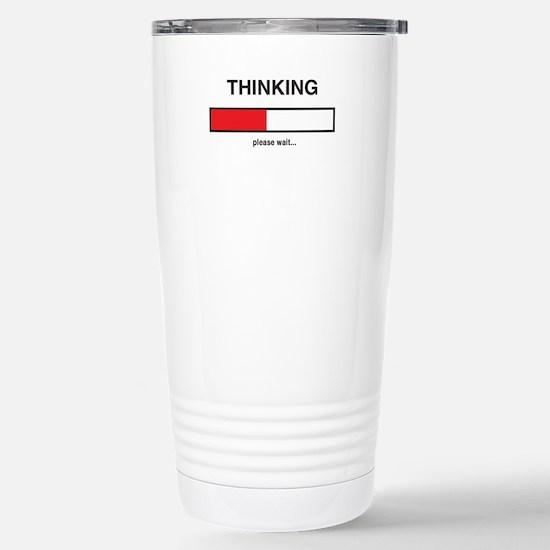 Thinking please wait... Travel Mug