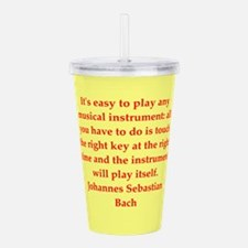 BACH3.png Acrylic Double-wall Tumbler
