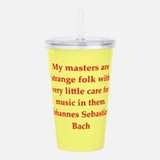BACH5.png Acrylic Double-wall Tumbler