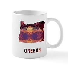 OREGON MAP Mugs
