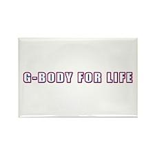 G-Body For Life Rectangle Magnet
