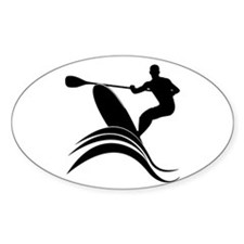 Cute Standup paddlesurf Decal