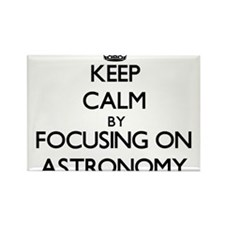 Keep calm by focusing on Astronomy Magnets