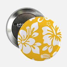 "Yellow Hawaiian Hibiscus 2.25"" Button (10 pack)"