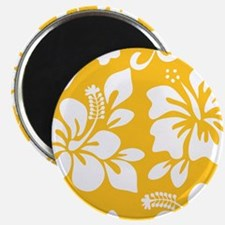 Yellow Hawaiian Hibiscus Magnets