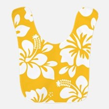 Yellow Hawaiian Hibiscus Bib