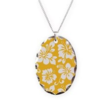 Yellow Hawaiian Hibiscus Necklace