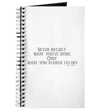 never regret Journal