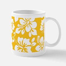 Yellow Hawaiian Hibiscus Mugs