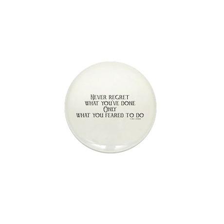 never regret Mini Button (100 pack)