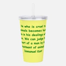 kant14.png Acrylic Double-wall Tumbler