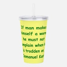kant15.png Acrylic Double-wall Tumbler