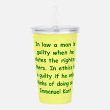 kant16.png Acrylic Double-wall Tumbler
