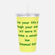 kant18.png Acrylic Double-wall Tumbler