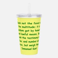 kant113.png Acrylic Double-wall Tumbler