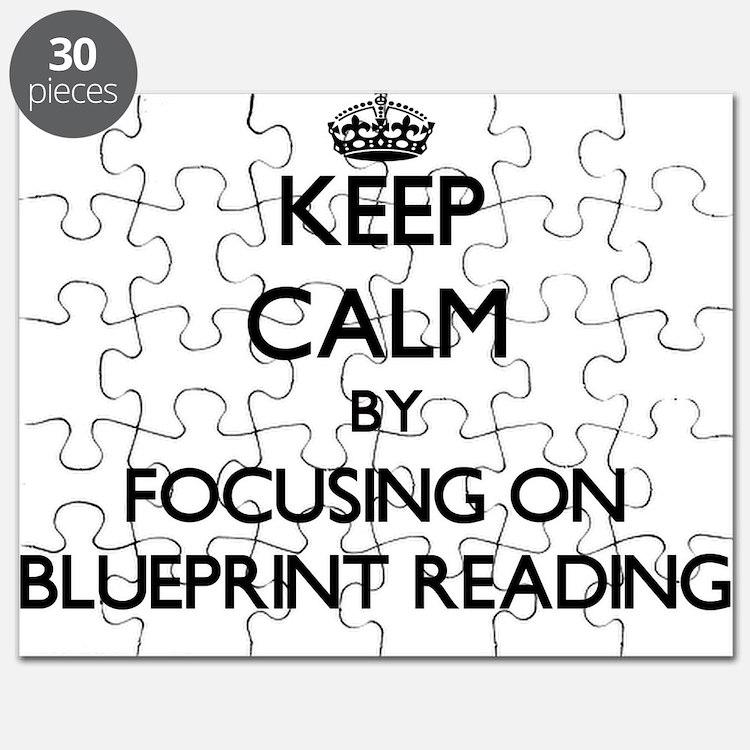 Cute Blueprint Puzzle