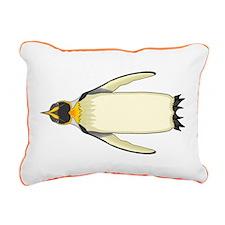 Emperorguin Rectangular Canvas Pillow