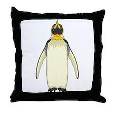 Emperorguin Throw Pillow