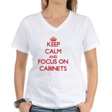Keep Calm and focus on Cabinets T-Shirt