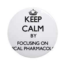 Cute Clinical pharmacology Ornament (Round)