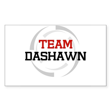 Dashawn Rectangle Sticker