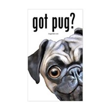 Got Pug? Decal