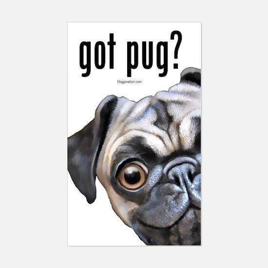 Got Pug? Sticker (Rectangle)