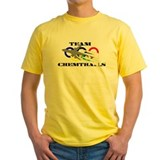 Chemtrails Mens Yellow T-shirts