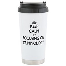 Unique I love environmental studies Travel Mug